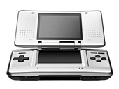Nintendo DS Handheld Console Silver