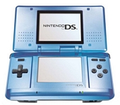 Blue Handheld Console