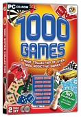 1000 Board and Puzzle Games (PC CD)