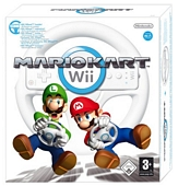 Mario Kart with Wii Wheel (Wii) - Wii Remote Not Included