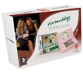 Nintendo DS Lite Pink Console with Nintendogs