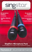 Pair Of SingStar Wired Microphones PS2 PS3 Ps4