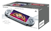 Sony PSP 3000 Series Slim and Lite Handheld Console Silver