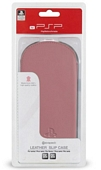 Official Sony Leather Slip Case for PSP 3000 Pink