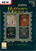 Baldurs Gate 4 in 1 Box Set