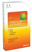 Microsoft Office Home and Student 2010, 1 User [Product Key Card] (PC)
