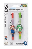Super Mario Character Charm Stylus Twin Pack Mario and Yoshi 3DS XL 3DS DSi XL DSi