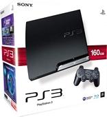 Sony PlayStation 3 Slim Console 160 GB Model