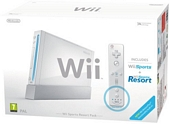 Nintendo Wii Console White with Wii Sports Wii Sports Resort including Wii Remote Plus Controller
