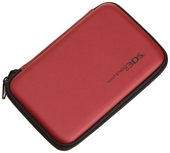AmazonBasics Carrying Case for Nintendo 3DS DS Lite DSi and DSi XL Red Officially Licenced by Nintendo