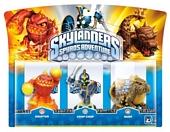 Skylanders Spyros Adventure Triple Character Pack Chop Chop Bash and Eruptor Wii PS3 Xbox 360 PC