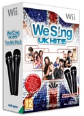 We Sing UK Hits with Twin Mic Bundle