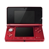 Nintendo Handheld Console 3DS Metallic Red
