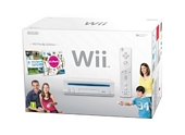 Nintendo Wii Console White with Wii Sports and Wii Party