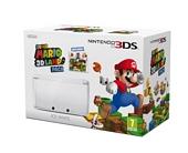 Nintendo Handheld Console 3DS Ice White Bundle with Super Mario 3D Land