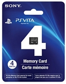 Sony PlayStation Vita Memory Card 4GB Model