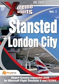 Xtreme Airports Vol 1: Stansted and London City (PC CD)