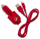 Angry Birds USB Car Charger Nintendo 3DS DSi DSi XL
