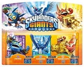 Skylanders Giants Triple Character Pack Pop Fizz Trigger Happy Whirlwind Wii PS3 Xbox 360 3DS Wii U