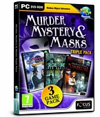 Murder Mystery and Masks Triple Pack