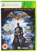 Batman Arkham Asylum Game Of The Year Edition Classic XBOX 360