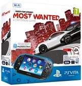 Sony PlayStation Vita WiFi Console with Need for Speed Most Wanted and 4GB Memory Card PlayStation Vita