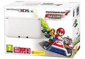 Nintendo Handheld Console 3DS XL White Limited Edition with Mario Kart 7
