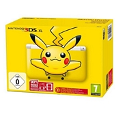Nintendo Handheld Console 3DS XL Pikachu Yellow Limited Edition