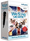 We Sing UK Hits Plus One Mic (Nintendo Wii)