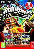 RollerCoaster Tycoon 8 Pack - 1, 2 and 3 Plus Various Official Expansion Packs (PC CD)
