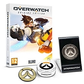 Best Price for Overwatch Origins Edition Memory of War Metal Coin and Metal Badge Bundle Exclusive to Amazon co uk