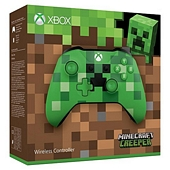 Official Xbox One Wireless Controller Minecraft Creeper