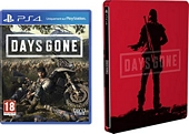 Days Gone with Limited Edition SteelBook Exclusive to Amazon co uk