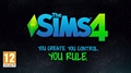 The Sims 4 - You Create. You Control. You Rule.